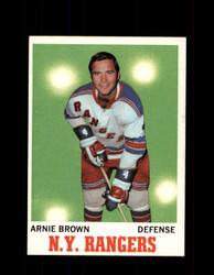 1970 ARNIE BROWN TOPPS #66 RANGERS *G3241