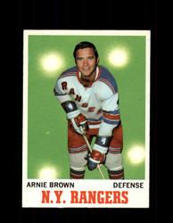 1970 ARNIE BROWN TOPPS #66 RANGERS *G3244