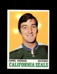 1970 CAROL VADNAIS TOPPS #70 SEALS *G3268