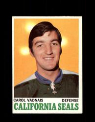 1970 CAROL VADNAIS TOPPS #70 SEALS *G3269