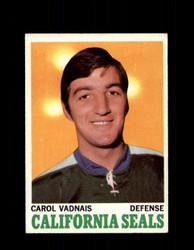 1970 CAROL VADNAIS TOPPS #70 SEALS *G3272