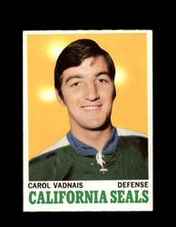 1970 CAROL VADNAIS TOPPS #70 SEALS *G3273