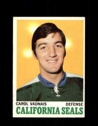 1970 CAROL VADNAIS TOPPS #70 SEALS *G3274