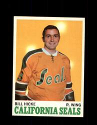 1970 BILL HICKE TOPPS #76 SEALS *G3297