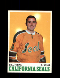 1970 BILL HICKE TOPPS #76 SEALS *G3298