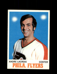 1970 ANDRE LACROIX TOPPS #84 FLYERS *G3311