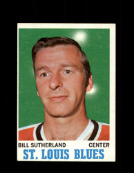 1970 BILL SUTHERLAND TOPPS #83 BLUES *G3312