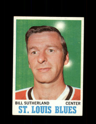 1970 BILL SUTHERLAND TOPPS #83 BLUES *G3313