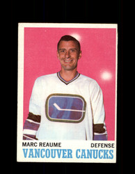 1970 MARC REAUME TOPPS #119 CANUCKS *8105
