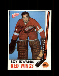 1969 ROY EDWARDS TOPPS #56 RED WINGS *G3337