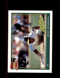 1991 RICKEY HENDERSON OPC #670 O-PEE-CHEE ATHLETICS *G3505