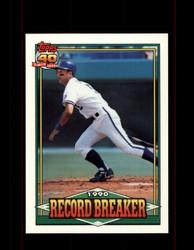 1991 GEORGE BRETT OPC #2 O-PEE-CHEE RECORD BREAKER *G3512