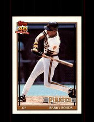 1991 BARRY BONDS OPC #570 O-PEE-CHEE PIRATES *G3522