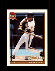 1991 BARRY BONDS OPC #570 O-PEE-CHEE PIRATES *G3528