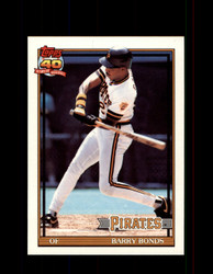 1991 BARRY BONDS OPC #401 O-PEE-CHEE ALL STAR *G3530