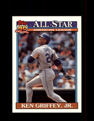 1991 KEN GRIFFEY JR. OPC #392 O-PEE-CHEE ALL STAR *G3535