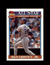 1991 KEN GRIFFEY JR. OPC #392 O-PEE-CHEE ALL STAR *G3536