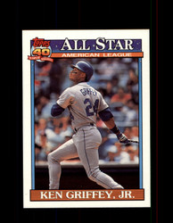 1991 KEN GRIFFEY JR. OPC #392 O-PEE-CHEE ALL STAR *G3537