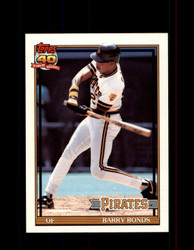 1991 BARRY BONDS OPC #570 O-PEE-CHEE PIRATES *G3539