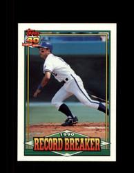 1991 GEORGE BRETT OPC #2 O-PEE-CHEE RECORD BREAKER *G3574