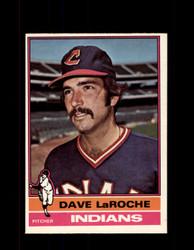 1976 DAVE LAROCHE OPC #21 O-PEE-CHEE INDIANS *G3653