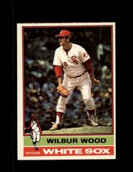 1976 WILBUR WOOD OPC #368 O-PEE-CHEE WHITE SOX *G3689