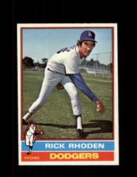 1976 RICK RHODEN OPC #439 O-PEE-CHEE DODGERS *G3708