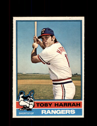 1976 TOBY HARRAH OPC #412 O-PEE-CHEE RANGERS *R4186