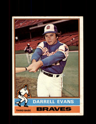 1976 DARRELL EVANS OPC #81 O-PEE-CHEE BRAVES *G3713