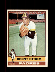 1976 BRENT STROM OPC #84 O-PEE-CHEE PADRES *G3715