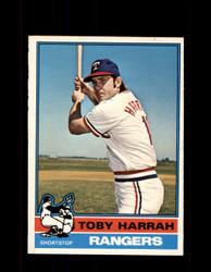 1976 TOBY HARRAH OPC #412 O-PEE-CHEE RANGERS *G3781