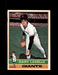 1976 GARY LAVELLE OPC #105 O-PEE-CHEE GIANTS *G3796