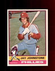 1976 JAY JOHNSTONE OPC #114 O-PEE-CHEE PHILLIES *G3869