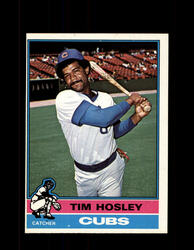 1976 TOM HOSLEY OPC #482 O-PEE-CHEE CUBS *G3931