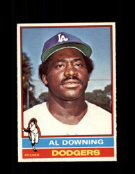 1976 AL DOWNING OPC #605 O-PEE-CHEE DODGERS *G3935