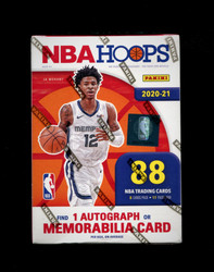 2021 NBA HOOPS BASKETBALL BLASTER BOX