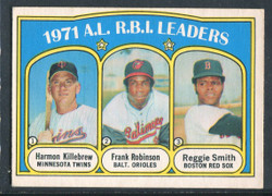 1972 AL RBI LEADERS OPC #88 HARMON KILLEBREW ROBINSON EX #1286