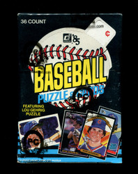 1985 DONRUSS BASEBALL WAX BOX - FROM A SEALED CASE