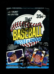 1985 LEAF BASEBALL WAX BOX - FROM A SEALED CASE