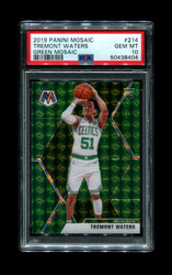 2019 TREMONT WATERS PANINI MOSAIC #214 GREEN MOSAIC PSA 10