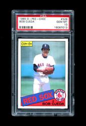 1985 BOB OJEDA OPC #329 O PEE CHEE RED SOX PSA 10