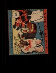 1942 AMERICA AT WAR #502 TRUCK CONVOY ON BURMA ROAD *2981