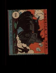 1942 AMERICA AT WAR #504 TANK ACTION AT MINDANAO *R1029