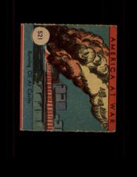 1942 AMERICA AT WAR #521 BURNING OIL AT CAVITE *G5877