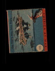 1942 AMERICA AT WAR #523 PULLING AWAY FROM SINKING SHIP *G6019