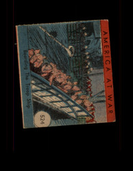 1942 AMERICA AT WAR #524 BOARDING THE TROOP SHIP *R5847