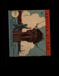1942 AMERICA AT WAR #531 SUBMARINE CONNING TOWER *R3452