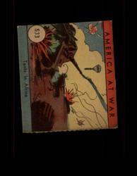 1942 AMERICA AT WAR #533 TANKS IN AFRICA *6762