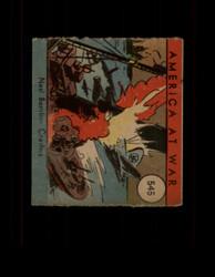 1942 AMERICA AT WAR #545 NAZI BOMBER CRASHES *R4511