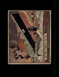 1941 UNCLE SAM GUM INC. #33 SUB SINKS 17,000-TON JAP LINER *R5446